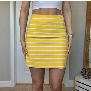 🌼 Banana Republic striped mini skirt